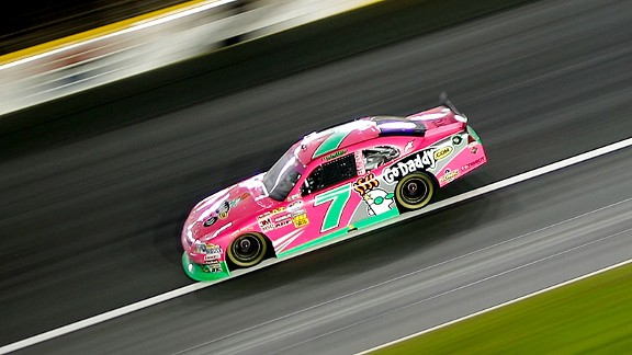With her 11th-place finish at Charlotte, Danica Patrick moved into 10th in series points.