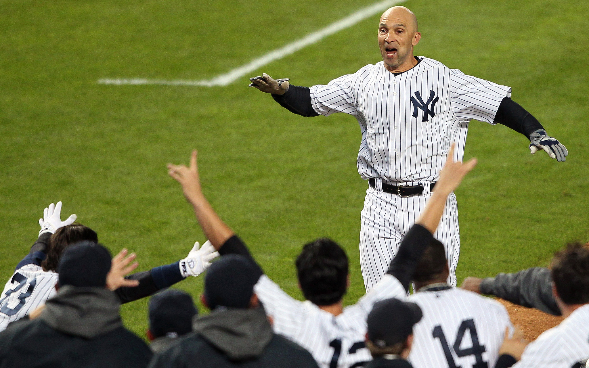 Raul Ibanez Celebration