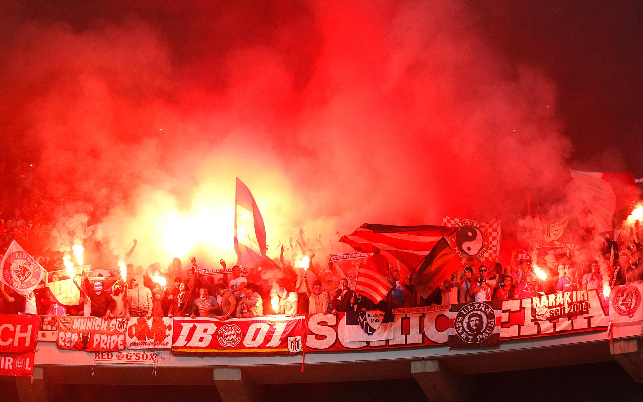 Bayern Munich's Supporters