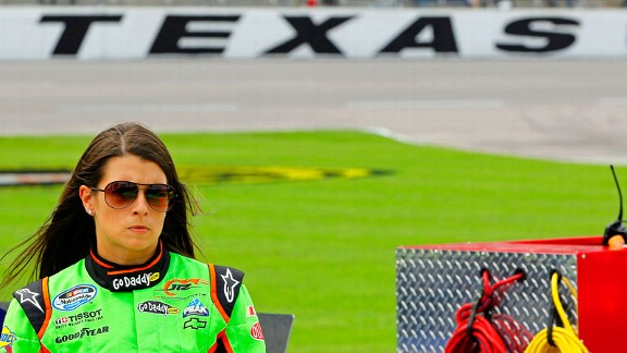 Danica Patrick finished eighth in the Nationwide race at Texas in the spring  her best result of the year  and Tony Gibson's drivers have been quick there, too.