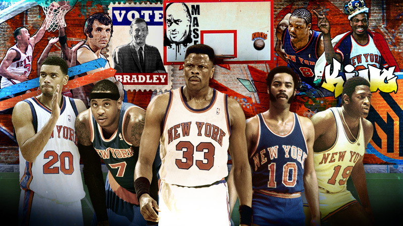 The 25 Greatest New York Knicks