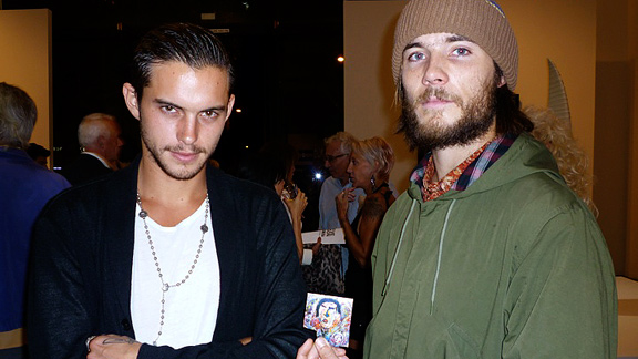 Alien Workshop pro Dylan Rieder and Steve Olson's son, Girl pro Alex Olson.