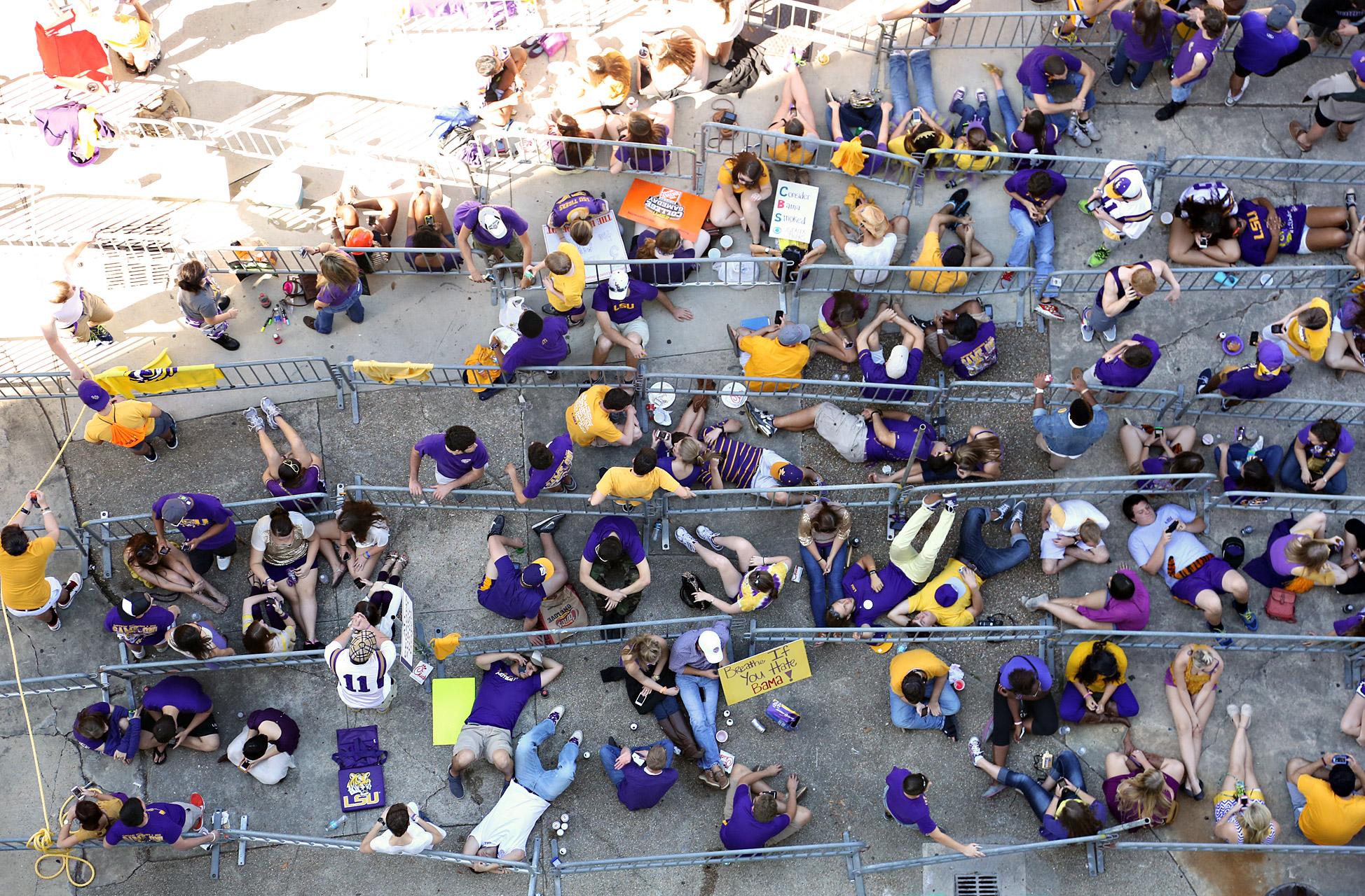 Overhead Student Line
