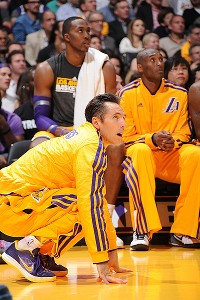 With Steve Nash sidelined by injury, the Lakers' grand plan might fizzle.