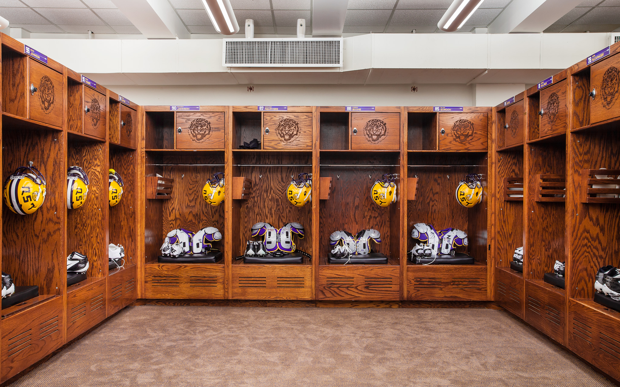 Lsu Football New Locker Room