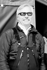 Jay Sandelin, owner of Great Northern Powder Guides.