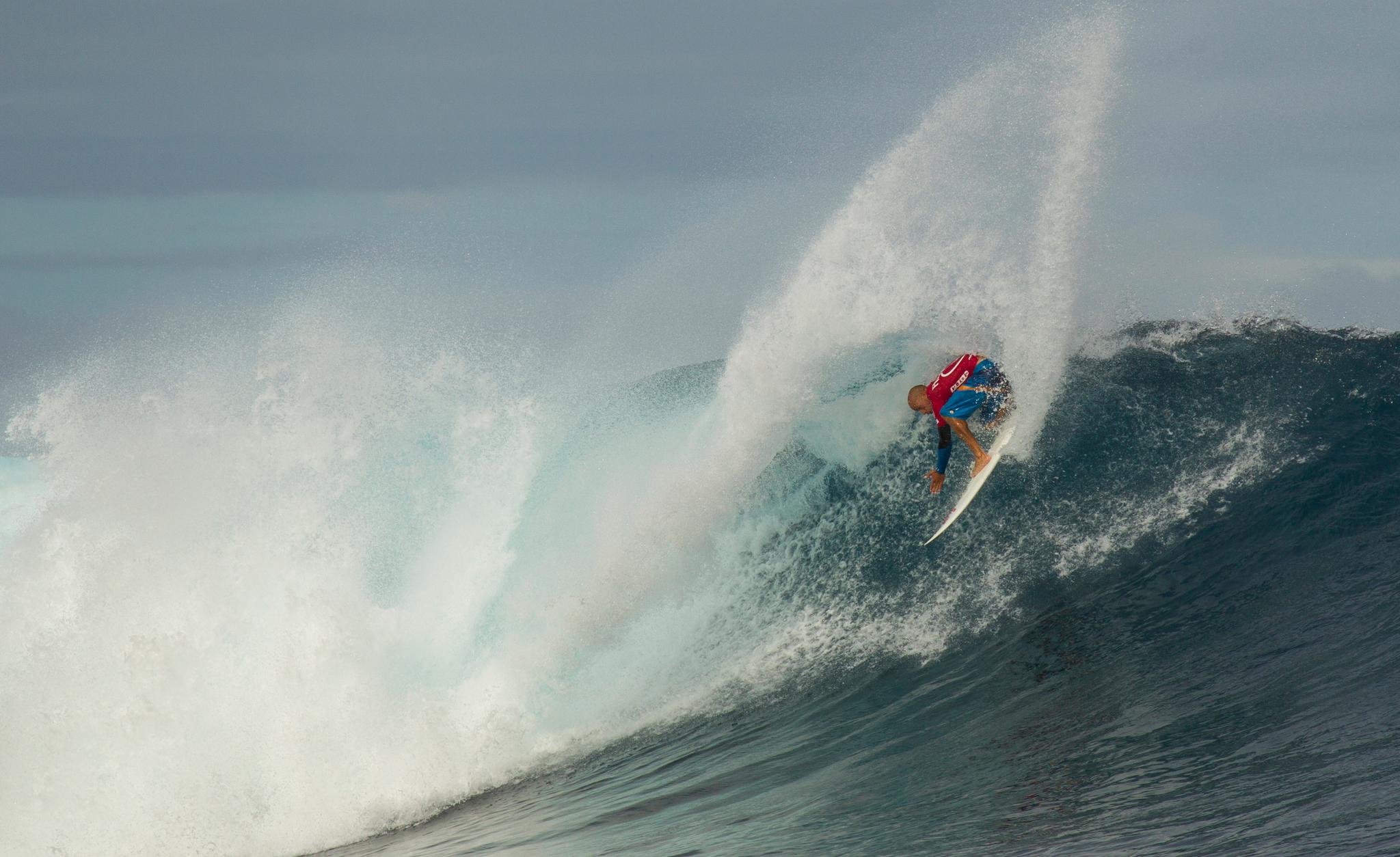 Kelly Slater, Volcom Fiji Pro