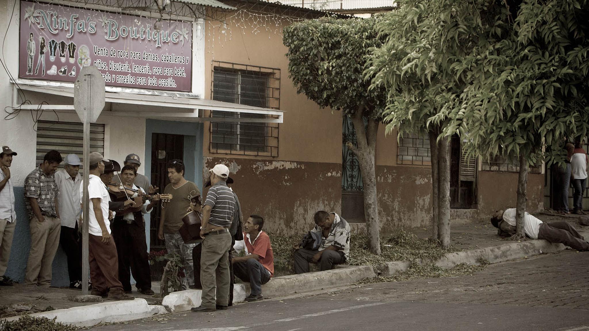 San Salvador Street Scene