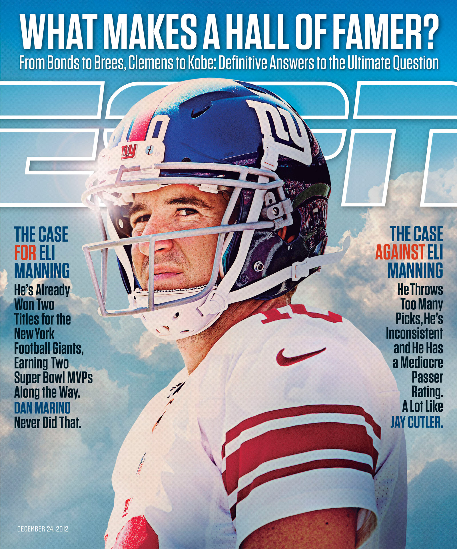 ESPN The Magazine's Hall of Fame Issue