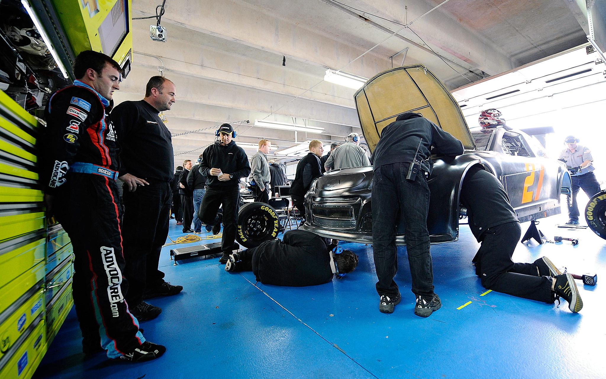 NASCAR Testing
