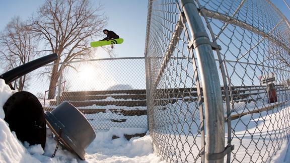 The landing might not be powder, but Minnesota kids can still jump.