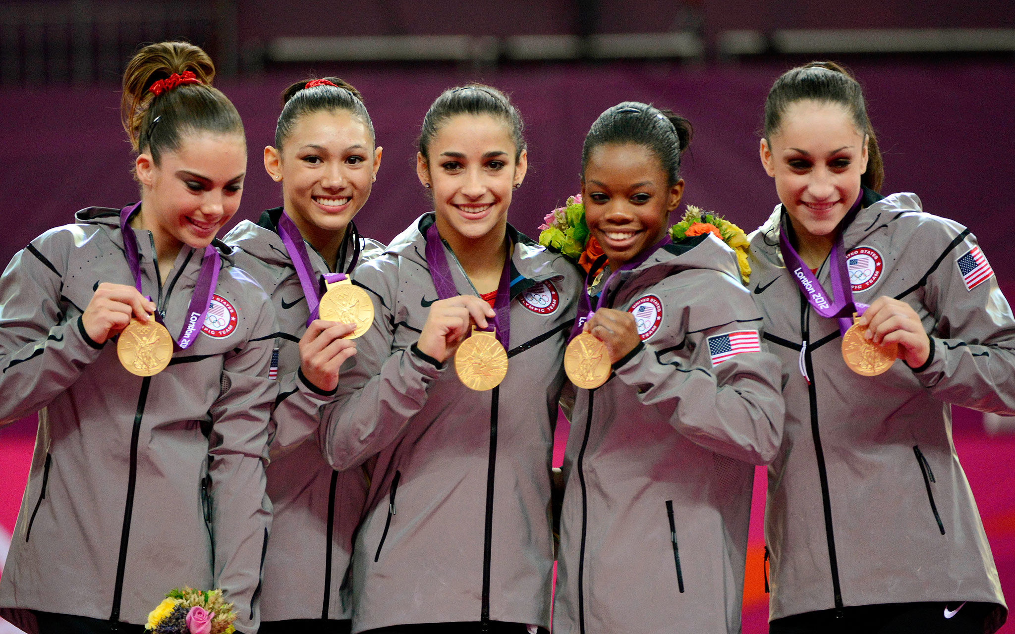 5. Raisman leads Team USA To Gold