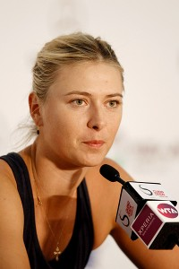 Always quick with a quip, Maria Sharapova wasn't afraid to speak her mind in 2012.