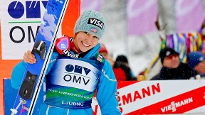 Sarah Hendrickson is planning to be in Sochi next February when women's ski jumping debuts in the Winter Games.