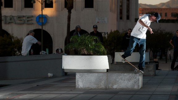 While the new DGK video Parental Advisory just dropped, Josh Kalis switch backside noseblunts with the best of them