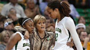 Kim Mulkey will try to show Brittney Griner and Odyssey Sims the way to a repeat national championship.