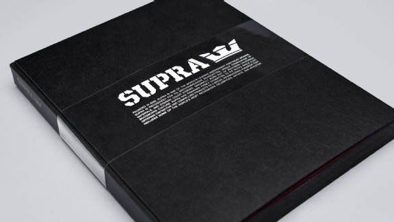 The Supra Footwear book.