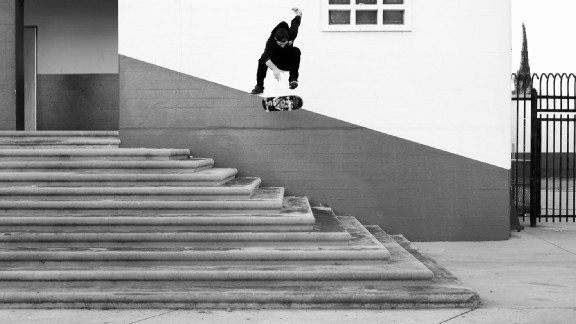 Mike Mo Capaldi's got a mean hard flip with those DCs on!
