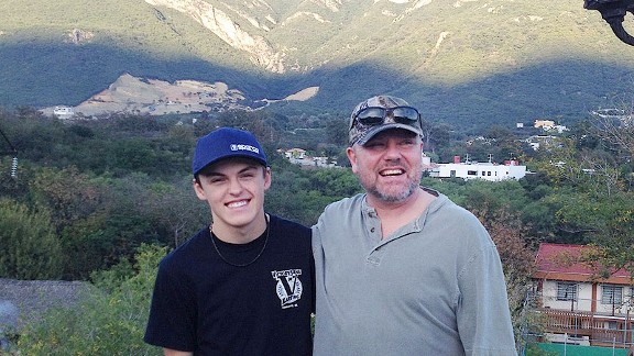 Ford Martin, left, and Gil Martin said they learned a lot on a mission trip to Monterrey, Mexico.