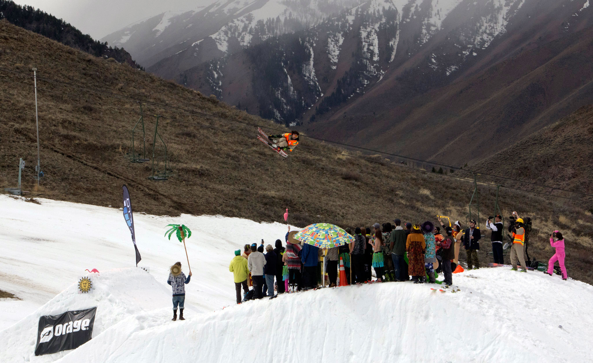 Mike Hornbeck at the Orage Masters at Sun Valley, Idaho.