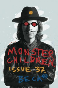 One of the covers of Monster Children featuring Beck.