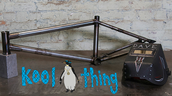 Pedal Driven Cycles' new Kool Thing BMX frame is now available for pre-order.