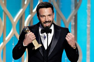 Ben Affleck was a double winner at the Golden Globes for Argo.