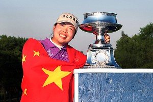 China had its first LPGA winner in Shanshan Feng last year; now it's hosting a new event.
