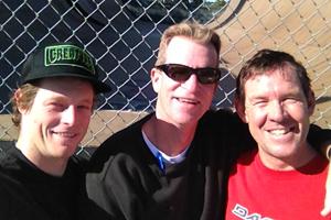 Willis Kimble, Harvey Hawks and Curt Kimble