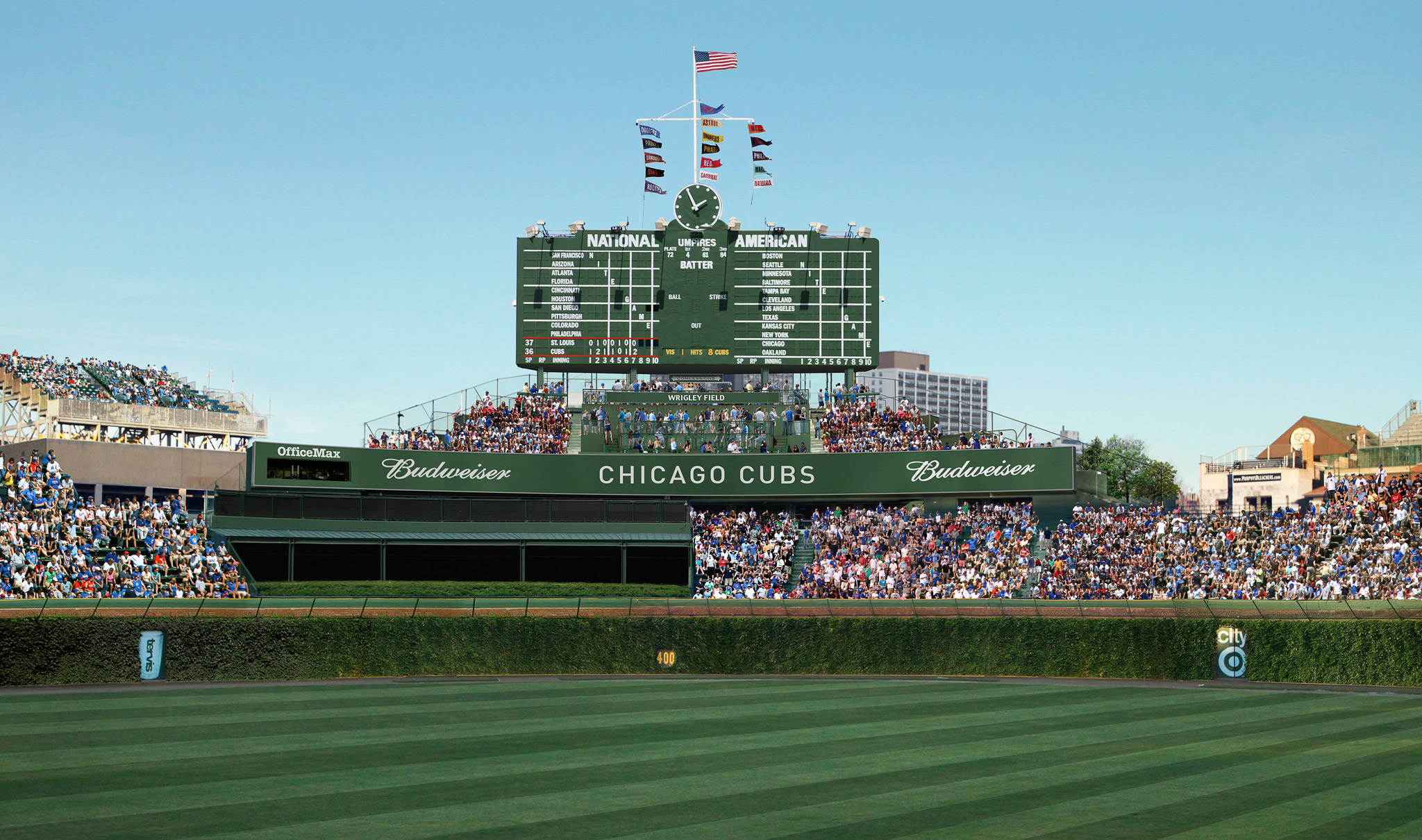 Wrigley Renderings - Center Field