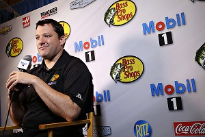 Tony Stewart's blue-collar persona has been a hit with consumers and business partners alike.