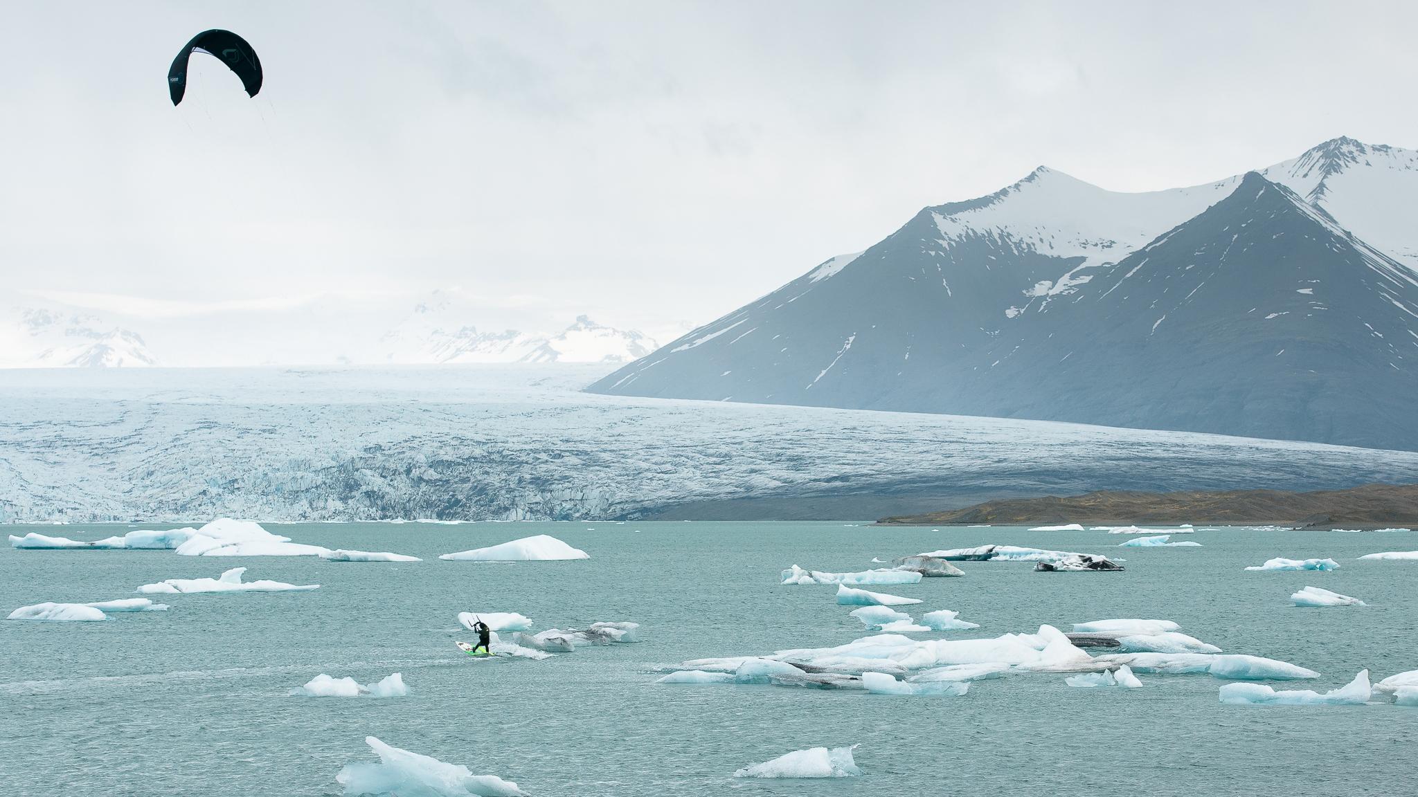 Iceland via Kite