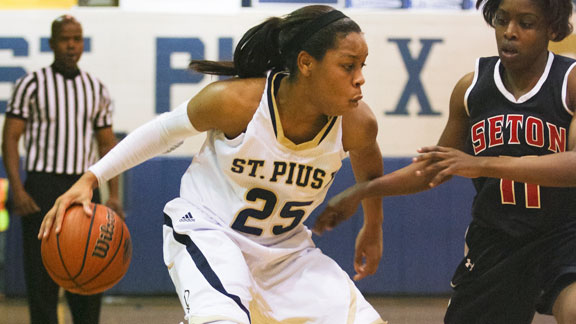 Asia Durr led St. Pius to a state title as a sophomore and now has been named to USA Basketball's U16 national team.