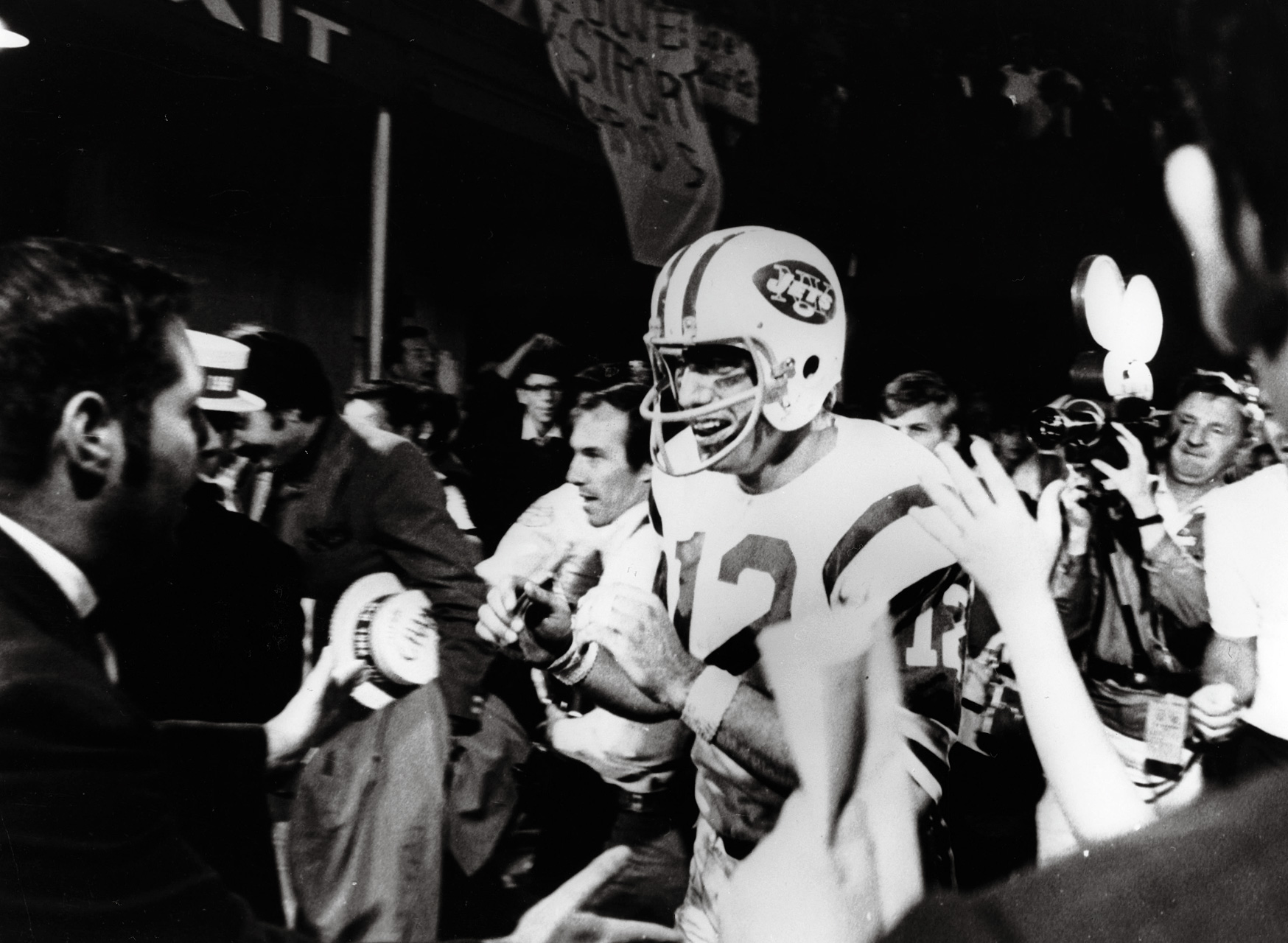 Joe Namath - Super Bowl III (17/28, 206 yards)