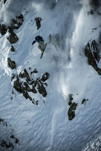 The Freeride World Tour made a visit to Chamonix, France.