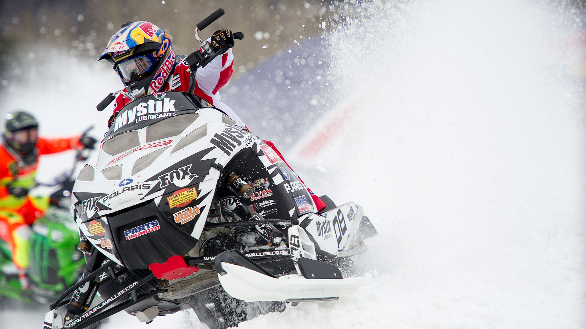 Levi LaVallee added to his gold medal collection, winning the Snowmobile Speed & Style final.