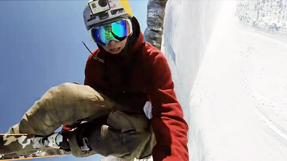 Preview the Ski Slopestyle course with Bobby Brown and GoPro.