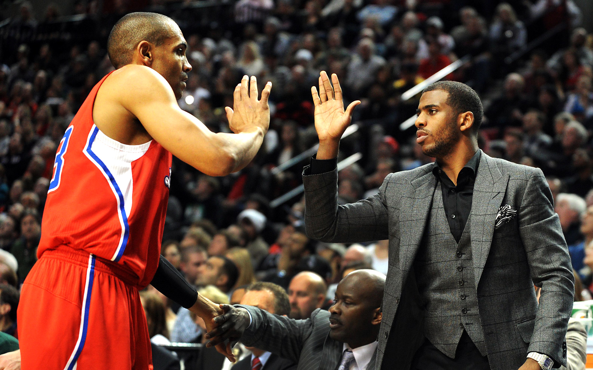Grant Hill and Chris Paul