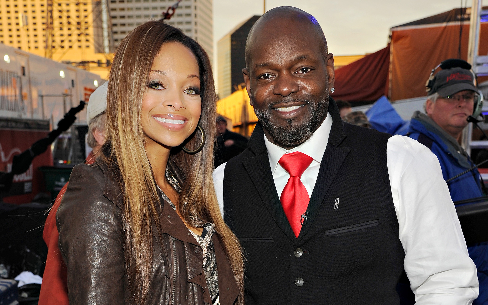 Patricia Southall and Emmitt Smith