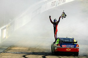 Kyle Busch won the first race in the Car of Tomorrow, then promptly declared on national television that the car sucked.