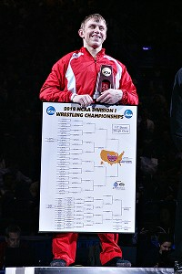 Cornell's Kyle Dake is seeking his fourth straight national championship in his fourth different weight class.