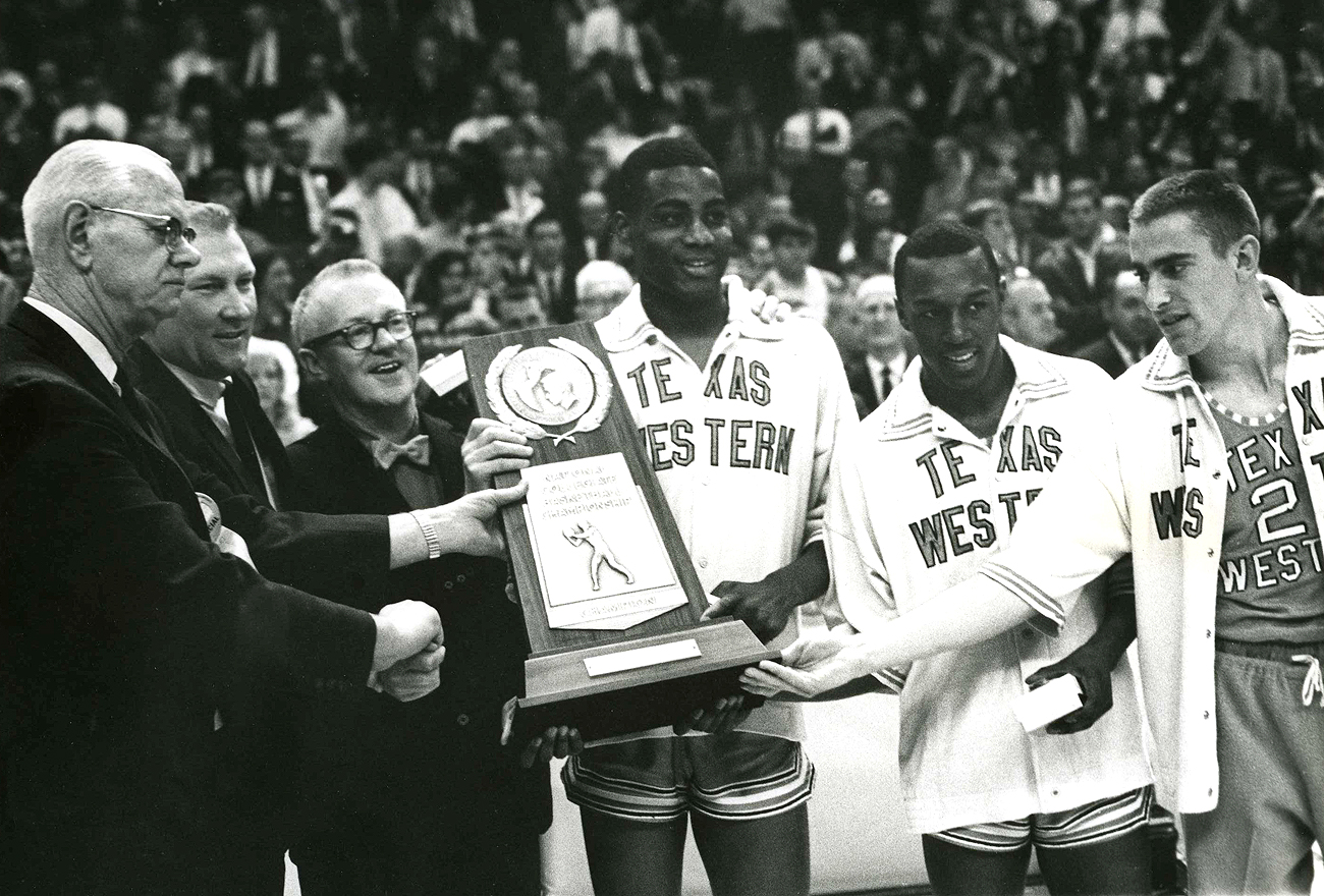 Texas Western Wins In 1966