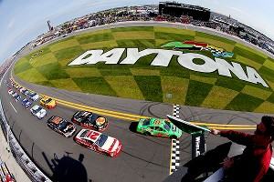 Daytona has been good to Danica Patrick, winner of the Nationwide pole last year and the Cup pole this year.