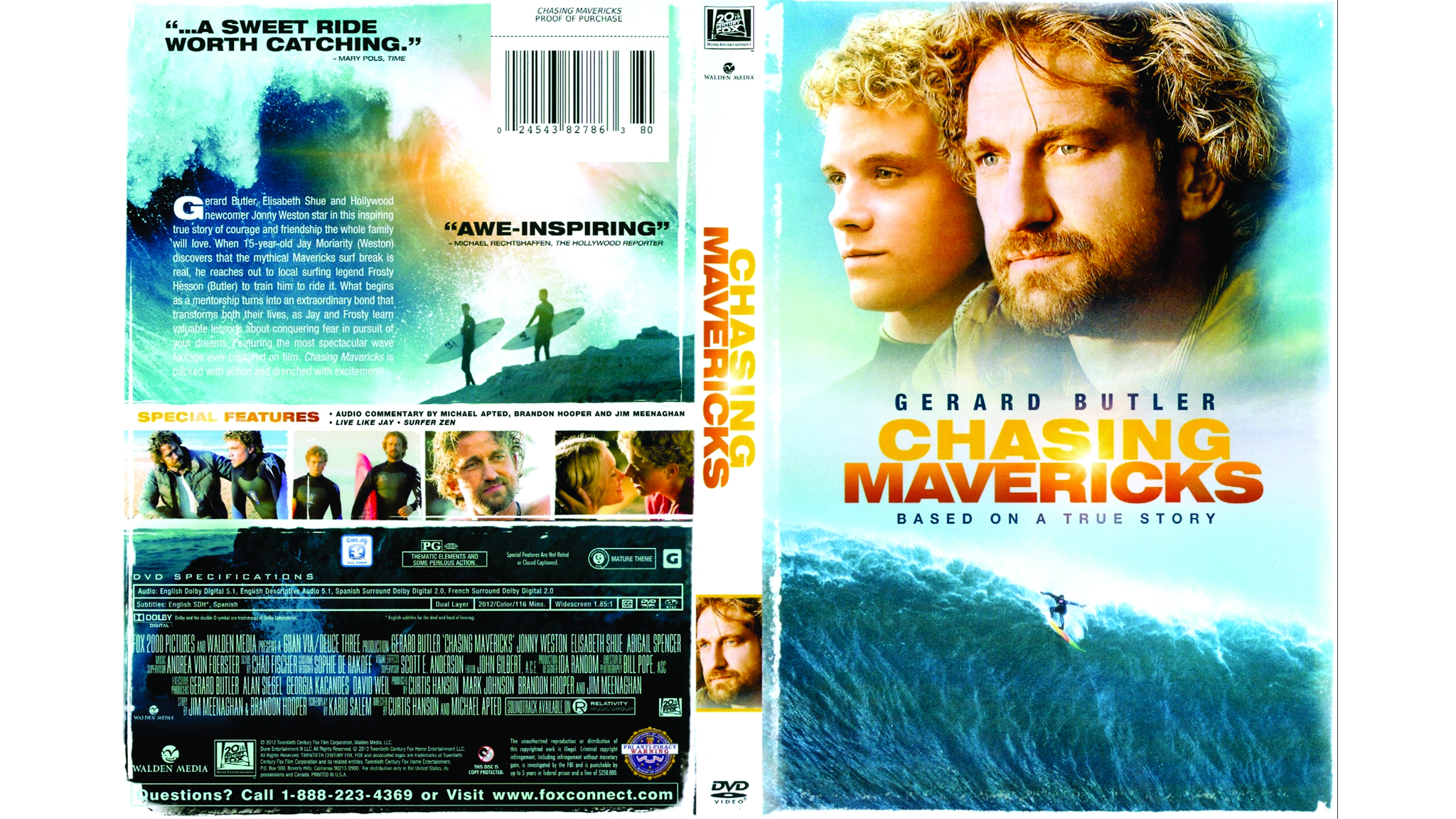 'Chasing Mavericks' is available on DVD this week.