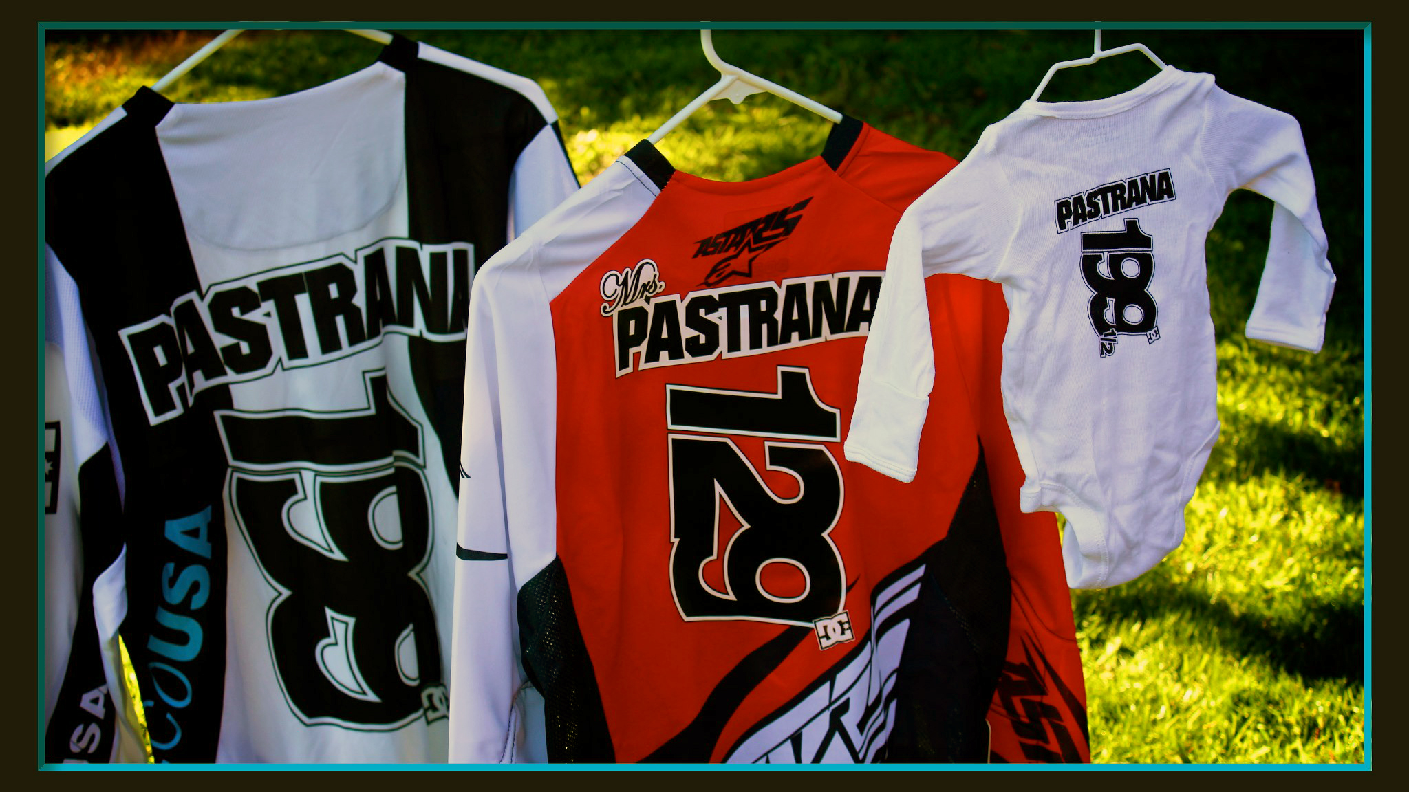 The Pastranas are excited to be adding a new number to their lineup.