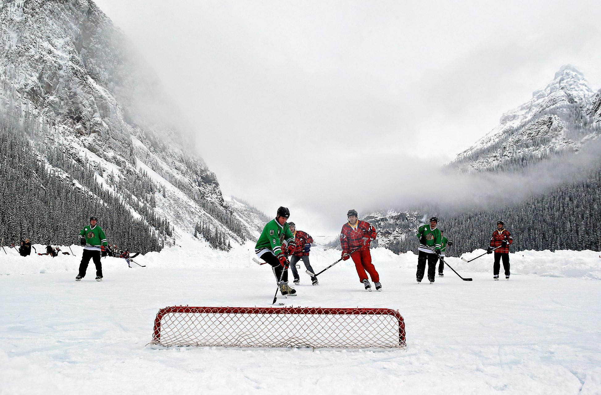 Lake Louise Pond Hockey Classi
