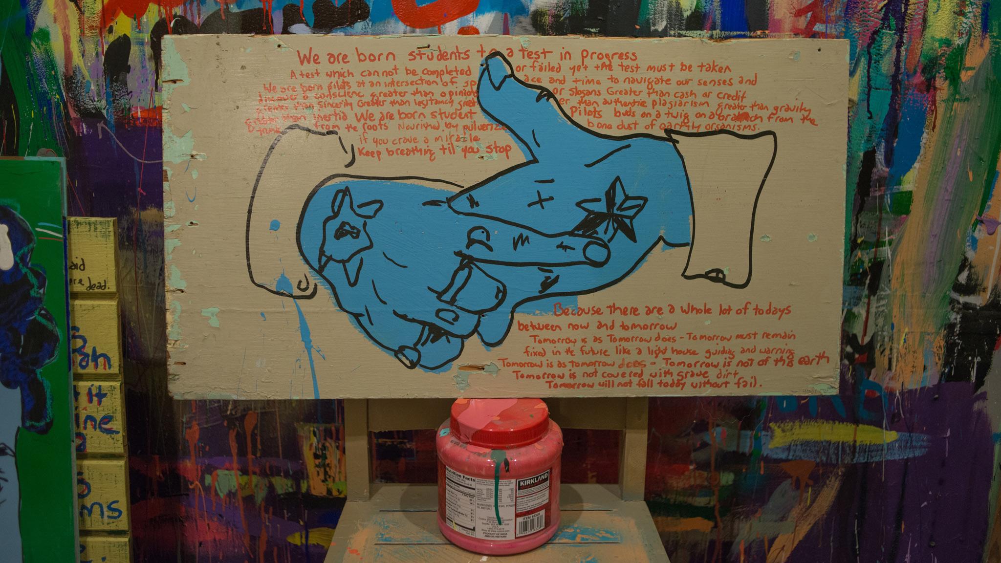 Higgs' hands