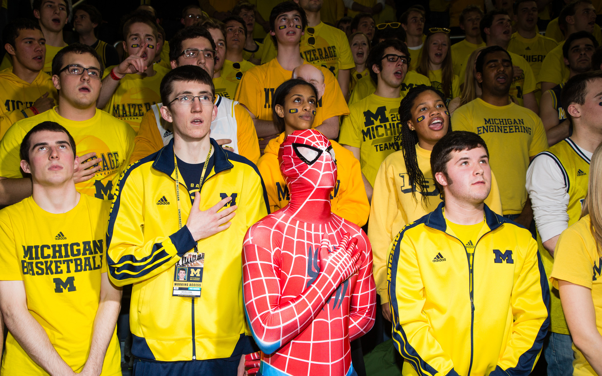 One Day, One Game: Michigan Vs. Ohio State, February 5, 2013