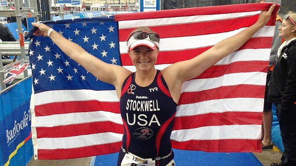 Melissa Stockwell says she is proud of the way she lost her leg, and often wraps it in the red, white and blue.