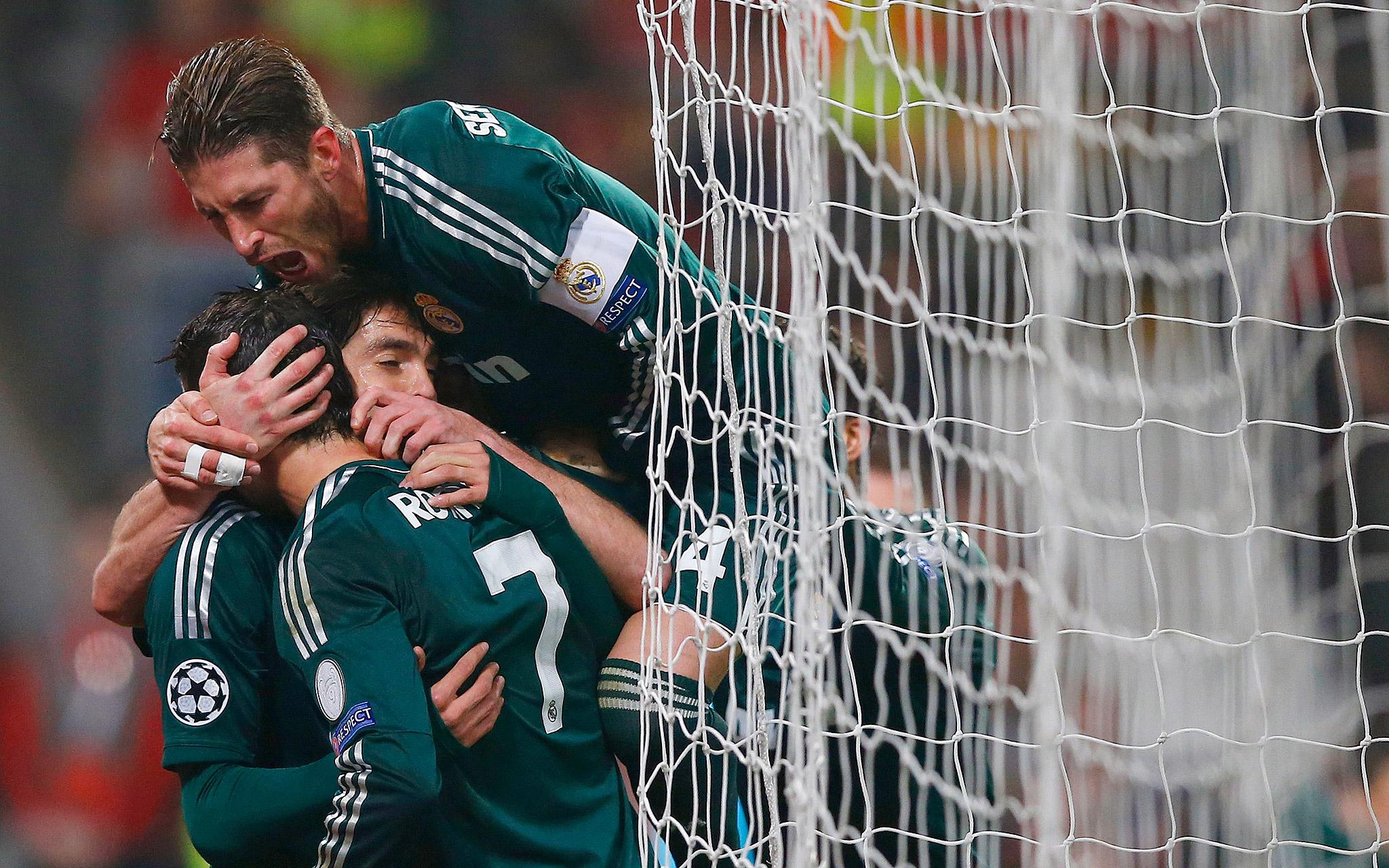 Real Madrid celebrates